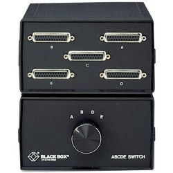 Black Box Network - SWL026A-FFFFF - Black Box Serial/Parallel Switchbox - - Manual