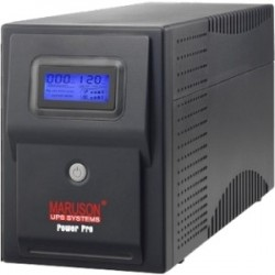 Maruson Technology - PRO-1500ALCD - Maruson Power Pro ALCD PRO-1500ALCD 1400VA Tower UPS - 1400 VA/840 W - Tower - 6 x NEMA 5-15R - EMI / RFI, Over Charge, Overload, Surge