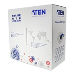 Aten Technologies - 2L2801 - Aten Low Skew Cat 5e Cable - Category 5e for Network Device - 1000.66 ft - Bare Wire - Bare Wire - Shielding - Blue
