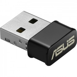 Asus - USB-AC53 - Asus USB-AC53 IEEE 802.11ac - Wi-Fi Adapter for Desktop Computer - USB - 1.14 Gbit/s - 2.40 GHz ISM - 5 GHz UNII - External