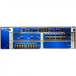 Juniper Networks - SRX3400BASE-AC - Juniper SRX3400 Services Gateway - 8 x 10/100/1000Base-T LAN - 4 x SFP , 4 x Expansion Slot