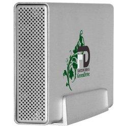 "MicroNet - GD1000EU - Fantom GreenDrive 1 TB 3.5"" External Hard Drive - USB 2.0, eSATA - Silver - Retail"