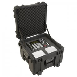 "SKB Cases - 3R1919-14B-CW - SKB 3R Roto Mil-Std Waterproof Case with Cubed Foam, Pull Handle and Wheels - Internal Dimensions: 19"" Width x 19"" Depth x 14.50"" Height - 22.66 gal - Latching Closure - Polypropylene - Black - For Military"