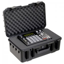 "SKB Cases - 3I-2011-8B-C - SKB 3I Mil-Std Waterproof Case with Cubed Foam - Internal Dimensions: 11.50"" Width x 20.50"" Depth x 8"" Height - 8.16 gal - Latching Closure - Heavy Duty - Stackable - Polypropylene - Black - For Audio Equipment"