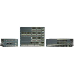 Cisco - WS-C2960PD-8TTL-RF - Cisco Catalyst 2960PD-8TT-L Ethernet Switch - 8 x 10/100Base-TX, 1 x 10/100/1000Base-T