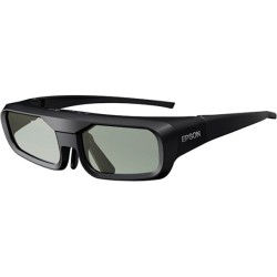 Epson - V12H548006 - Epson 3D Glasses (RF) ELPGS03 - For Projector - LCD - Radio Frequency - Battery Rechargeable - Black