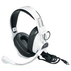 Ergoguys - 3066av - Deluxe Multimedia Stereo Wired Headset 3.5Mm Plug Via Ergoguys - Stereo - Mini-phone - Wired - 300 Ohm - 20 Hz - 20 kHz - Nickel Plated - Over-the-head - Binaural - Ear-cup - 7 ft Cable