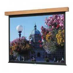 "Da-Lite - 76466C - Da-Lite Designer Manual Projection Screen - 70"" x 70"" - Matte White - 99"" Diagonal"