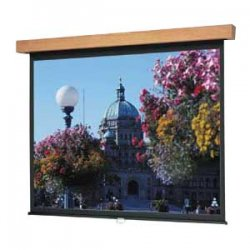 "Da-Lite - 96065C - Da-Lite Designer Manual Hamilton Projection Screen - 70"" x 70"" - High Power - 99"" Diagonal"
