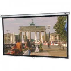 "Da-Lite - 36461 - Da-Lite Model B Manual Projection Screen - Matte White - 94"" Diagonal"