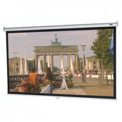 "Da-Lite - 36465 - Da-Lite Model B Manual Projection Screen - Matte White - 109"" Diagonal"