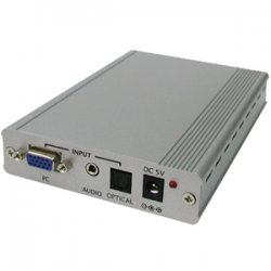 AITech - 06-888-008-02 - AITech Computer VGA to HDMI Scaler - 1 x Video In, 1 x Mini-phone - 1920 x 1200 - WUXGA