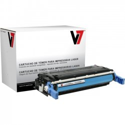V7 - V74600CG - Cyan Toner Cartridge, Cyan For HP Color LaserJet 4600, 4600N, 4600DN, 4600DTN