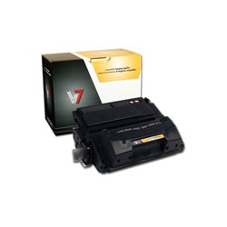 V7 - V742XG - V7 Black High Yield Toner Cartridge for HP LaserJet - Laser - High Yield - 20000 Pages