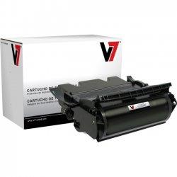 V7 - V7D4587G - V7 Black High Yield Toner Cartridge for Dell W5300N - Laser - High Yield - 32000 Page