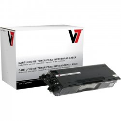 V7 - V7TN430G - V7 Remanufactured Toner Cartridge - Alternative for Brother (TN430) - Black - Laser - 3000 Pages - 1 Pack