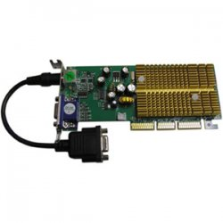 Jaton - 3DFORCE6200TWIN-LP - Jaton GeForce 6200 Graphics Card - nVIDIA GeForce 6200 - 256MB DDR SDRAM 64bit - AGP 8x - HD-15