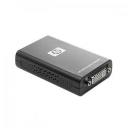 Hewlett Packard (HP) - NL571AA - HP USB to DVI Graphics Multiview Adapter - DDR SDRAM - USB