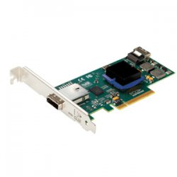 Atto Technology - ESASH644-000 - ATTO ExpressSAS H644 8-channel SAS Controller - PCI Express x8 - 600MBps Per Port - 1 x 4-pin SFF-8088 mini SAS 300 - Serial Attached SCSI External, 1 x 4-pin SFF-8087 mini SAS 300 - Serial Attached SCSI Internal