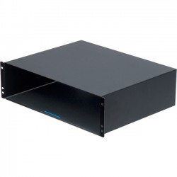 Rack Solution - 4UBOX-160 - Rack Solutions 4U Rackmount Box - 4U Wide Rack-mountable - Black Powder Coat - 100 lb x Maximum Weight Capacity