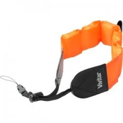 Vivitar (Sakar) - VIV-FLT-STP-ORG - Vivitar Camera Strap - Orange - Plastic, Nylon, Foam