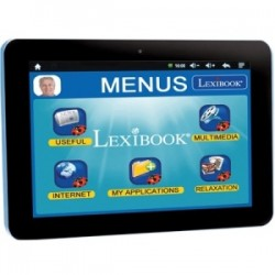 Lexibooks - MFC410EN - Lexibook Tablet Serenity for Seniors - Extra Large Icons - Quick App Link - 12,000 Apps - Multimedia - Skype- 15 Languages App
