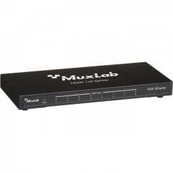 MuxLab - 500422 - MuxLab HDMI 1x8 Splitter, 2K-4K - 340 MHz - 25 MHz to 340 MHz - HDMI In - HDMI Out