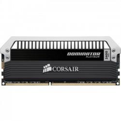 Corsair - CMD32GX3M4A2400C11 - Corsair Dominator Platinum 32GB DDR3 SDRAM Memory Module - 32 GB (4 x 8 GB) - DDR3 SDRAM - 2400 MHz - 1.65 V - 240-pin - DIMM