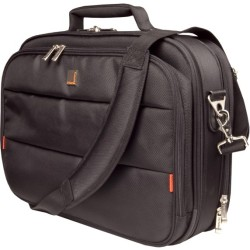 Urban Factory - CCC02UF V2 - Urban Factory City Classic CCC02UF-V2 Carrying Case (Briefcase) for 15.6 Notebook - Black - 1680D Nylon - Shoulder Strap, Handle - 14.4 Height x 17.1 Width x 4.7 Depth