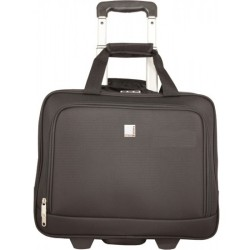 Urban Factory - BTR55UF - Urban Factory Method Carrying Case (Trolley) for 15.6 Notebook, Accessories, Business Card - Black - Handle - 14.6 Height x 17.3 Width x 8.3 Depth