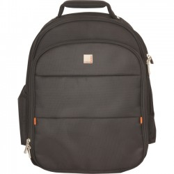 Urban Factory - CBP06UF - Urban Factory City Carrying Case (Backpack) for 15.6 Notebook, Accessories - Black - Nylon - 17.5 Height x 13.6 Width x 5.3 Depth