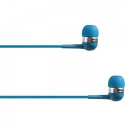 4xem - 4XIBUDBL - 4XEM Ear Bud Headphone Blue - Stereo - Blue - Mini-phone - Wired - 16 Ohm - 20 Hz - 18 kHz - Earbud - Binaural - In-ear - 3.75 ft Cable
