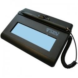 Topaz Systems - T-LBK460-BT2-R - Topaz SigLite T-LBK460-BT2-R Signature Pad - LCD - 4.40 x 1.40 Active Area LCD