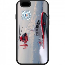 Trident Case - AG-API647-BKK09 - Trident Aegis iPhone Case - iPhone - U.S. Coast Guard Boat - Thermoplastic Elastomer (TPE), Polycarbonate, Silicone - 48 Drop Height