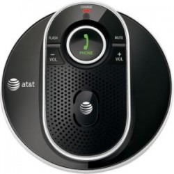 AT&T - TL80133 - AT&T TL80133 DECT 6.0 Cordless Accessory Speakerphone, Black - Portable