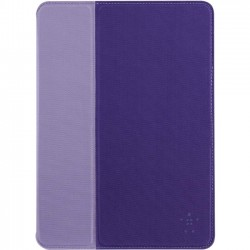 Belkin - F7N054B1C02 - Belkin Formfit Carrying Case for iPad Air - Purple - Scratch Resistant Interior, Scuff Resistant Interior - Velvet Interior