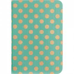 Belkin - F7N105B1C02 - Belkin FormFit Coverlet Carrying Case for iPad mini - Mint - Velvet Interior - Metallic Dots - 10.1 Height x 7.2 Width x 3.9 Depth