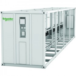 APC / Schneider Electric - ACECFR40200SE6 - Schneider Electric EcoBreeze Frame 40' (12m) 480/3/60 VAC 6 Modules Installed