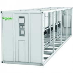 APC / Schneider Electric - ACECFR40200SE8 - Schneider Electric EcoBreeze Frame 40' (12m) 480/3/60 VAC 8 Modules Installed