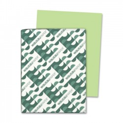 Wausau Papers - 21869 - Color Cardstock, 65lb, 8 1/2 x 11, Vulcan Green, 250 Sheets