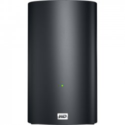 Western Digital - WDBVHT0060JCH-NESN - WD My Book Live Duo WDBVHT0060JCH Network Storage Server - 1 x 800 MHz - 2 x Total Bays - 6 TB HDD (2 x 3 TB) - RAID Supported - 1 x USB Ports