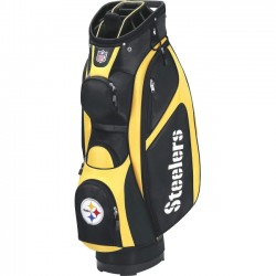 Wilson Sports - WGB9700PT - Wilson Carrying Case for Golf - Weather Resistant - Ripstop - Pittsburgh Steelers - Handle