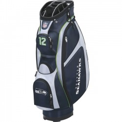 Wilson Sports - WGB9700SE - Wilson Carrying Case for Golf - Weather Resistant - Ripstop - Seattle Seahawks - Handle