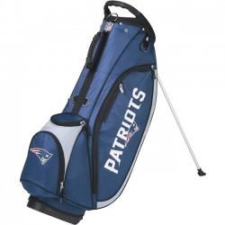 Wilson Sports - WGB9750NE - Wilson Carrying Case (Carry On) for Golf - Weather Resistant - Ripstop - New England Patriots - Handle, Carrying Strap
