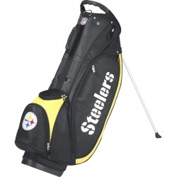 Wilson Sports - WGB9750PT - Wilson NFL Carrying Case (Carry On) for Golf - Ripstop - Pittsburgh Steelers - Handle, Carrying Strap