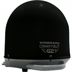 Winegard - GM-6035 BLACK - Winegard Carryout G2+ Antenna - Satellite Communication - Black - Roof-mountable