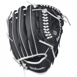 Wilson Sports - WTA03RB1710 - Wilson A360 10 Utility Baseball Glove - Right Hand Throw - 10 Size Number - Gold - Hook & Loop Strap - For Baseball