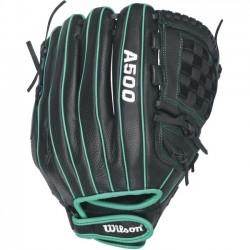 Wilson Sports - WTA05LF1612 - Wilson Siren FP 12 Utility - 12 Left Hand - Cat Web - Top Grain Leather Shell - Dual Welting, Lightweight, Flexible - For Fastpitch Softball