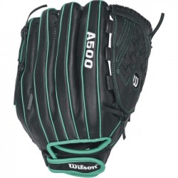 Wilson Sports - WTA05LF16125 - Wilson Siren FP 125 Utility - 12.5 - Victory Web - Top Grain Leather Shell, Leather Lace - Dual Welting, Lightweight, Durable - For Fastpitch Softball