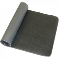 Trimax Sports - WTE10208 - PurAthletics Premium WTE10208 Pilates/Exercise Mat - Gym, Studio - 60 Length x 24 Width x 0.25 Thickness - Polyvinyl Chloride (PVC) - Gray